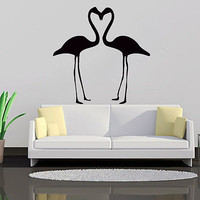 Flamingo Wall Decal Vinyl Sticker Home Decor Interior Bedroom Bathroom Art LM134