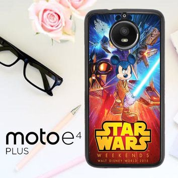 Star Wars Disney V1275 Motorola Moto E4 Plus Case