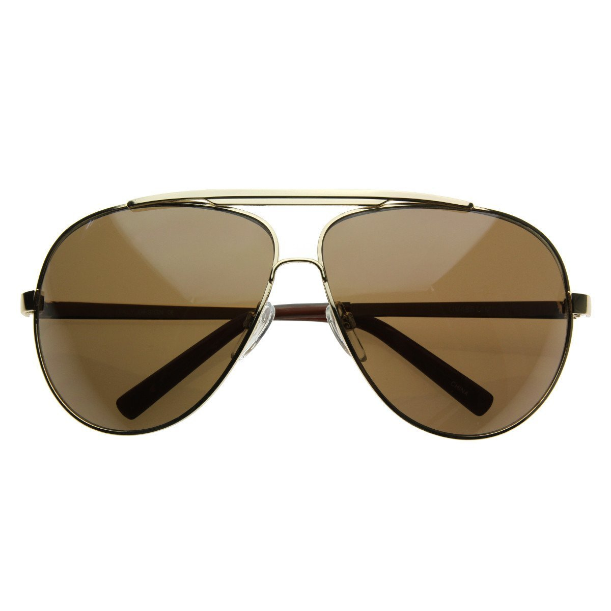 6deb812bf Extra Large Metal Oversize Frame Aviator from zeroUV | Glasses