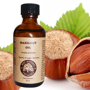 Hazelnut Oil (Pure, Undiluted, Cold Pressed). Excellent emollient and moisturizer for dry skin