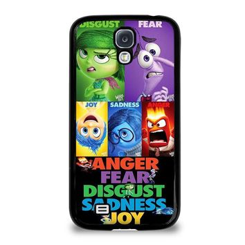 inside out all character disney samsung galaxy s4 case cover  number 1