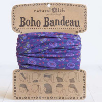 Boho Bandeau - Purple