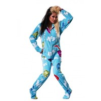 Buy KISS Cold Gin Drop Seat Onesuits Pajamas | World's Best PJ's