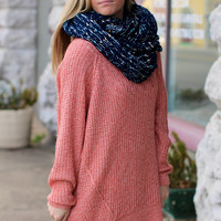 Lounge Oversized Sweater {Blush}