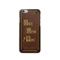 P2824 Once Upon a Time Book Cover Phone Case For IPHONE 6S