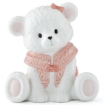 Baby Bear Pink Bank by Lenox