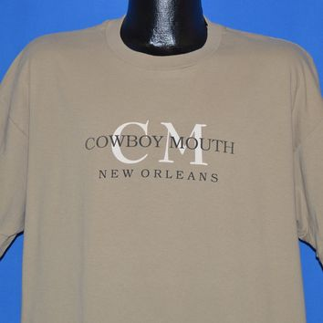 90s Cowboy Mouth New Orleans Logo t-shirt Extra Large