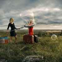 """Let's Leave"" - Art Print by Erik Johansson"