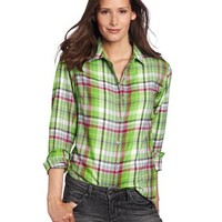 Marmot Women's Thalia Flannel Long Sleeve Button Down Shirt