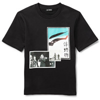 Raf Simons - Photographic Printed Cotton-Jersey Sweatshirt | MR PORTER