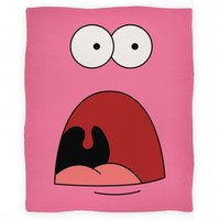 Patrick is Shocked Blanket