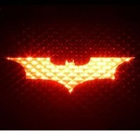 Batman 3rd Brakelight Decal Auto Car Sticker Vehicle Third Covering Mask Accesory Dark Knight Vinyl Decal Stickers Bat Automotive