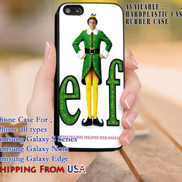 Discover Your Inner Elf Quote iPhone 6s 6 6s+ 5c 5s Cases Samsung Galaxy s5 s6 Edge+ NOTE 5 4 3 #quote dl8