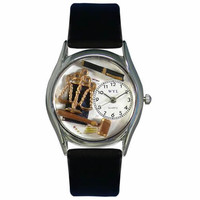 Lawyer Watch Small Silver Style