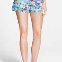 Women's Vineyard Vines 'Edgartown Scene' Print Shorts,