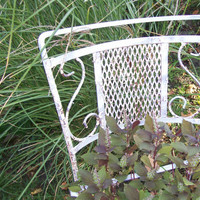 Wrought Iron furniture Shabby Chic  Patio Garden by 3vintagehearts