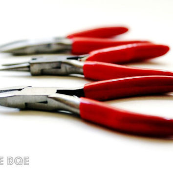 Mini Jewelry Tools 8x10 Photography Print Round Nose by thebqe