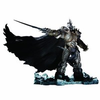 DC Unlimited World of Warcraft Deluxe Collector Figure: The Lich King: Arthas Menethil