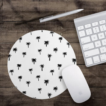 Palm Tree Mouse Pad - Fun Mouse Pad - Fruit Mouse Pad - Desk Accessory - Secretary Gift - Gift For Teachers - Gifts Under 15