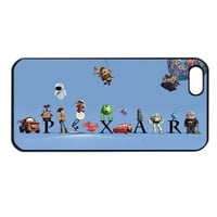 Pixar all Cartoons apple Iphone 5 case