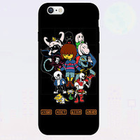 New Undertale Case Video Game 7 Hero Case for iPhone and Samsung