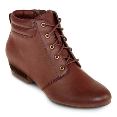 Yuu Tandem Lace Up Booties From Jcpenney Boots
