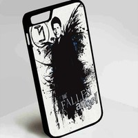 Castiel Supernatural iPhone 4, 4s, 5, 5s, 5c, 6, 6plus, 7 Case