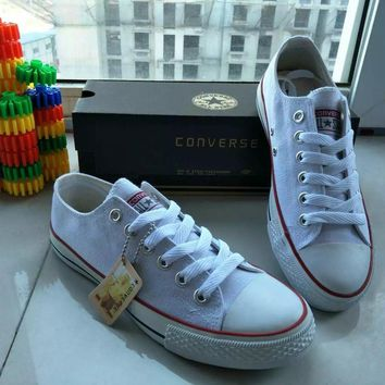 Fashion Online Converse Chuck Taylor All Star Unisex Sport Casual Low Help Shoes Canvas Shoes Couple Classic Cloth Shoes
