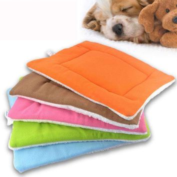 High Quality Soft Warm Pet Fleece Blanket Bed Mat Pad Cover Cushion For Dog Cat Puppy Animal House Washable#