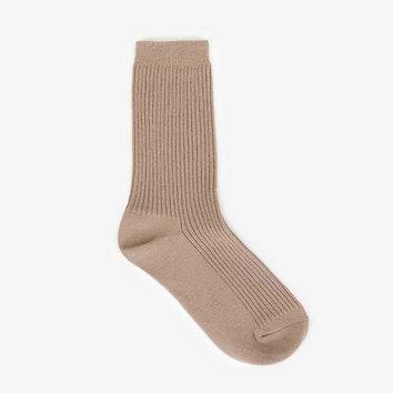Comfortable yours for life daily socks - Dark beige