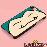 "Snorlax or Kabigon for iphone 4/4s/5/5s/5c/6/6+, Samsung S3/S4/S5/S6, iPad 2/3/4/Air/Mini, iPod 4/5, Samsung Note 3/4 Case ""002"""