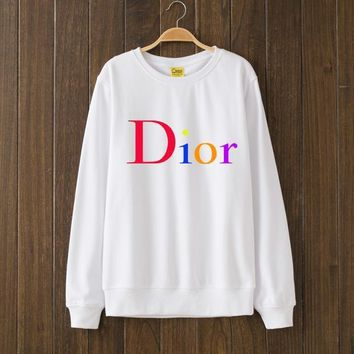 DIOR Woman Men Top Sweater Pullover