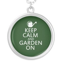 Garden on pendant from Zazzle.com