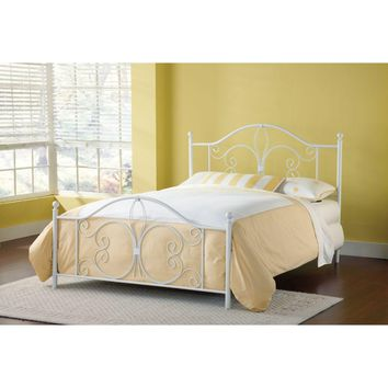 1687BK Ruby Bed Set - King - Rails not included