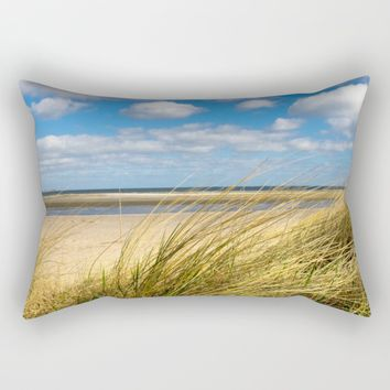 Beach whispers Rectangular Pillow by Tanja Riedel