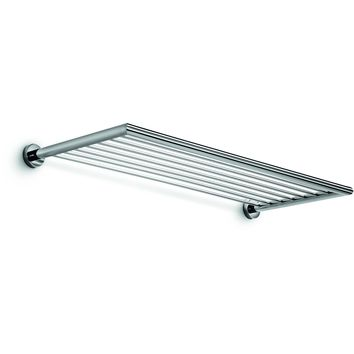 "LB Baketo 23.6"" Shelf Towel Hanging for Bath Storage Towel Rack Holder Chrome"