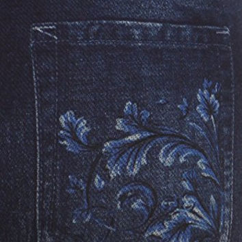 Always Black Classic Jeans with Floral Details Jeggings - Over 35+ Styles To ...