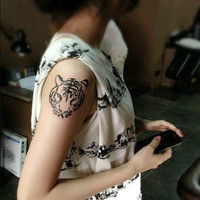 Temporary Tattoo Sticker-Tiger