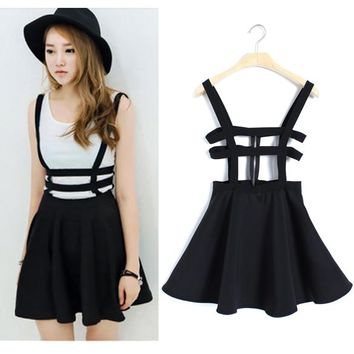 Suspender Strap Skirt