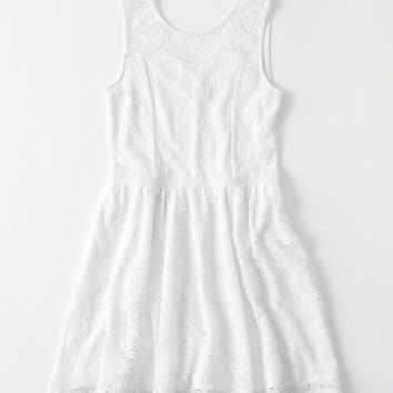 girls Lace Skater Dress | girls clearance | Abercrombie.com