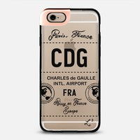 CDG - Paris, France - Travel The World iPhone 6 case by Love Lunch Liftoff | Casetify