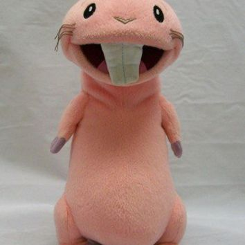Disney Kim Possible Movie RUFUS naked mole rat talks plush stuffed animal