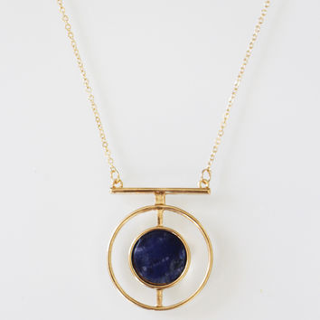 Circular Marble Necklace