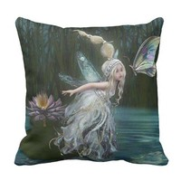 Fairy of the forrest pillow