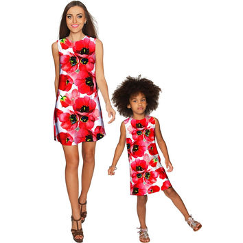 Tulip Salsa Adele Shift Party Mommy and Me Dress