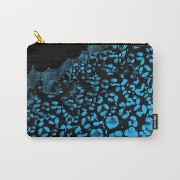 Leopard Print Carry-All Pouch by ES Creative Designs