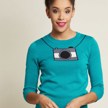 Calling the Snapshots Sweater
