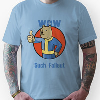 Wow Such Fallout Unisex T-Shirt