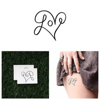Loop De Loop - Temporary Tattoo (Set of 2)