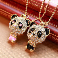 Him Or Hers Panda Necklace from Purty Products